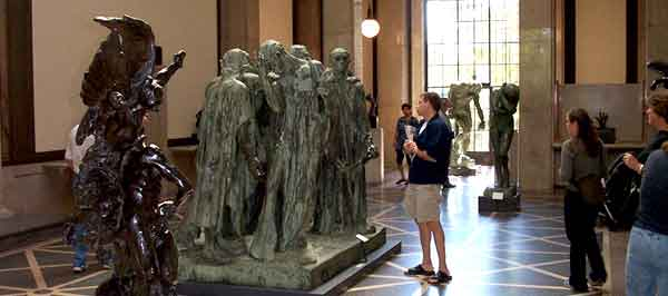 Rodin Museum, The Burghers of Calais,  Bronze 1884-95
