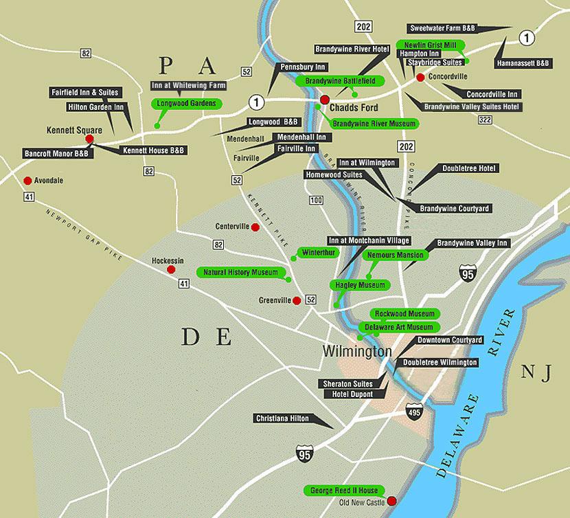 brandywine battlefield map - photo #38